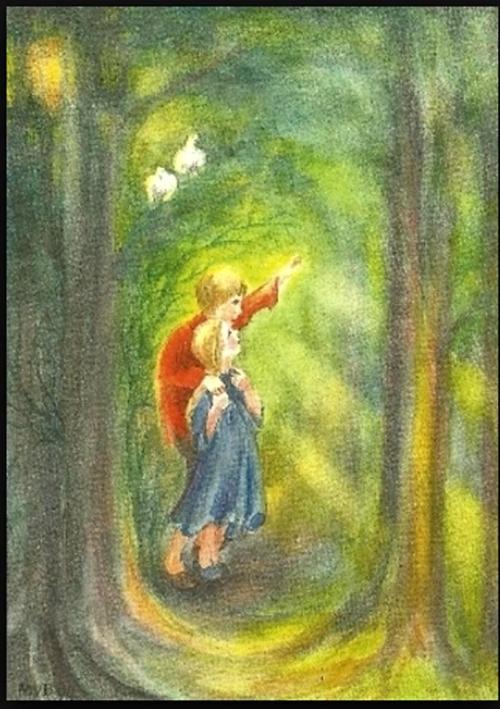 15 Grimm Hans en Grietje 3