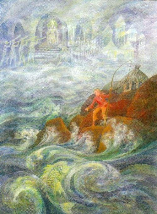 19 Grimm Van de visser en zijn vrouw 3