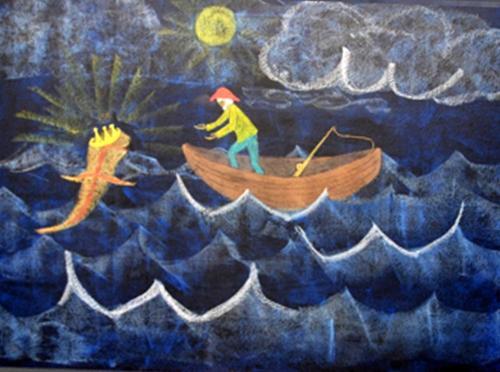 19 Grimm Van de visser en zijn vrouw
