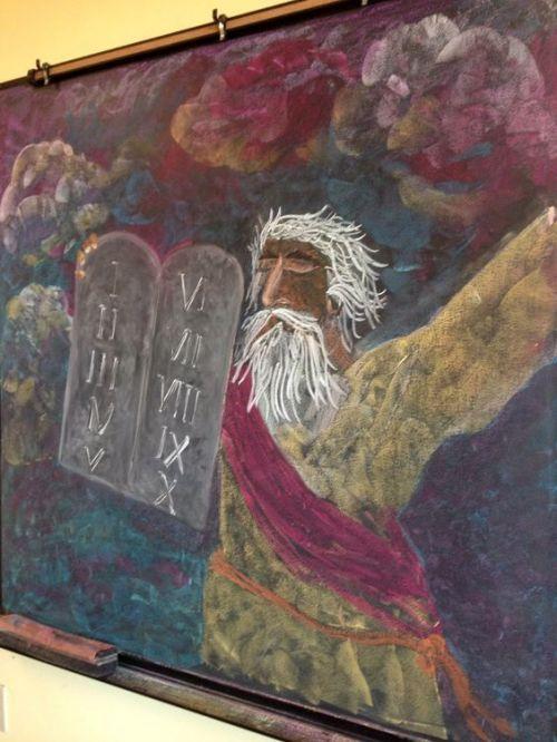 3e klas vertelstof Mozes 1