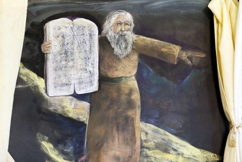3e klas vertelstof Mozes 2