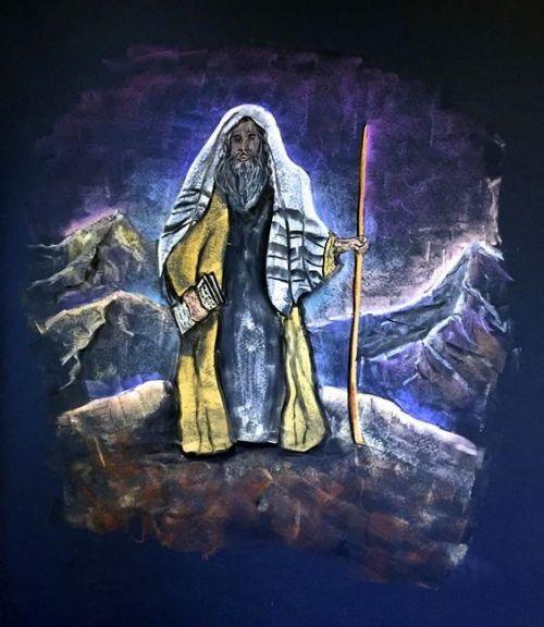 3e klas vertelstof Mozes 3