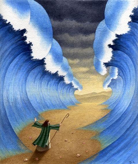 3e klas vertelstof Mozes 4