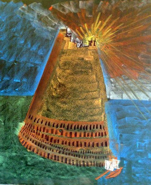 3e klas vertelstof Toren van Babel 1