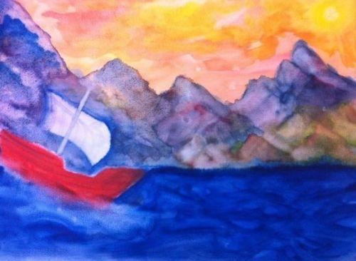 4e klas schilderen