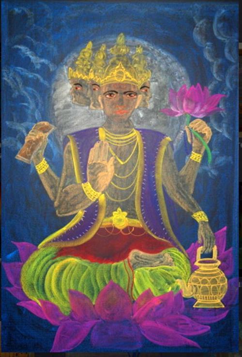 5e klas geschiedenis India Brahma 1