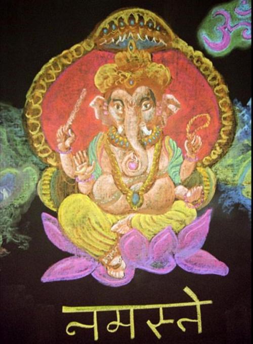 5e klas geschiedenis India Ganesh 1