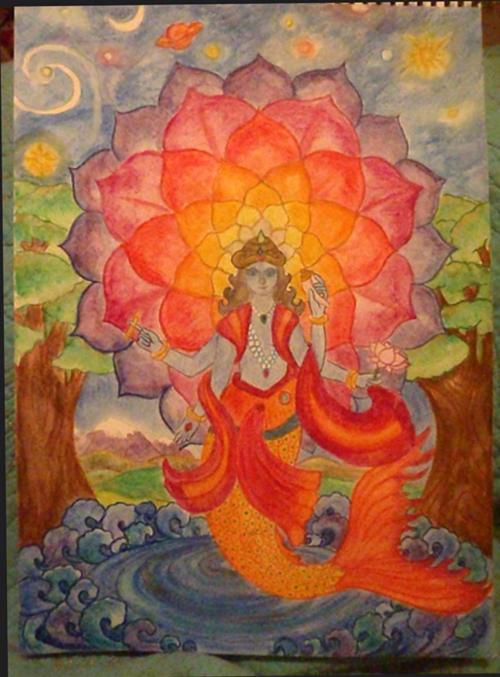 5e klas geschiedenis India Vishnu 2