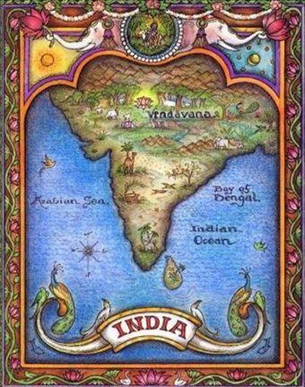 India kaart 2