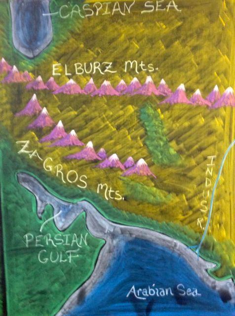 Perzië kaart 1
