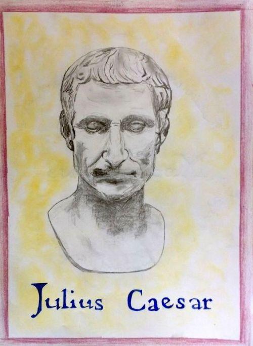 6e klas gesch Julius Caesar