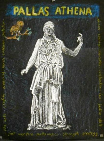6e klas gesch Pallas Athena