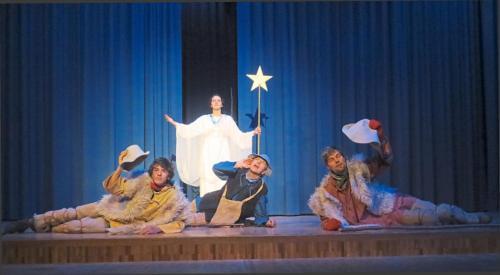 kerstspelen engel en herders 1