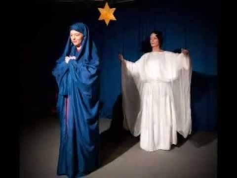 kerstspelen Engel en Maria